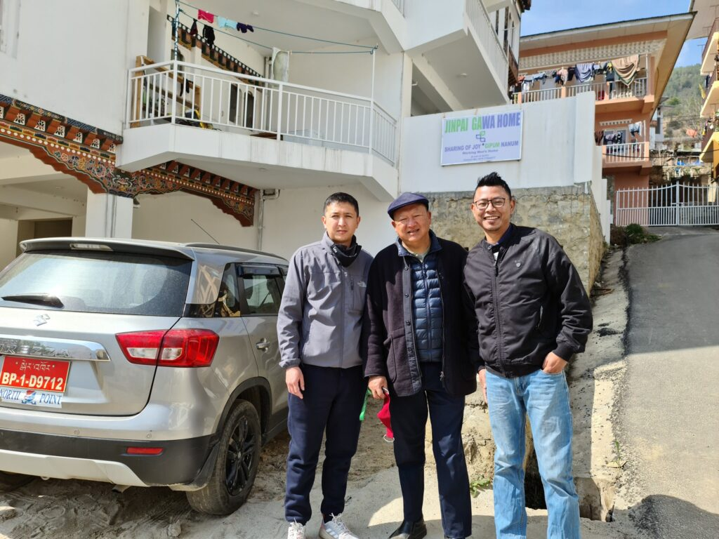Kinley Tshering, Rikesh Gurung, Victor Gurung